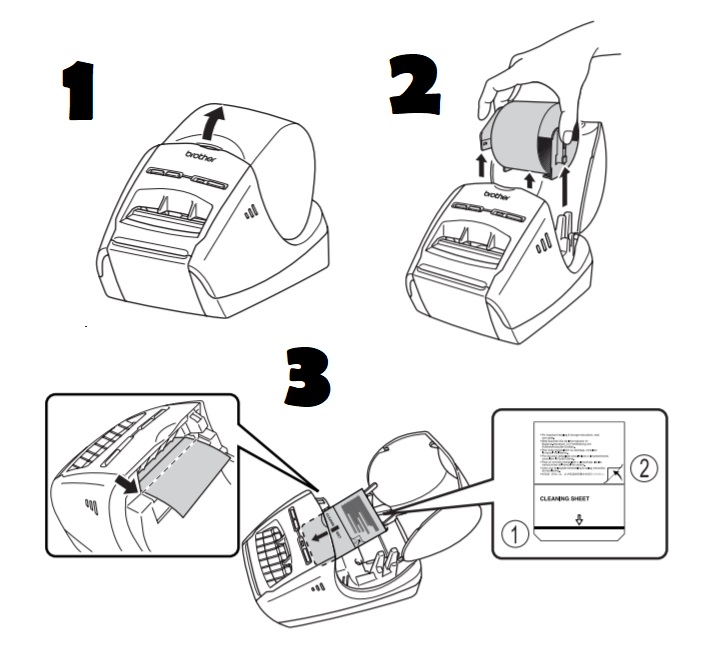 impresora brother ql 570
